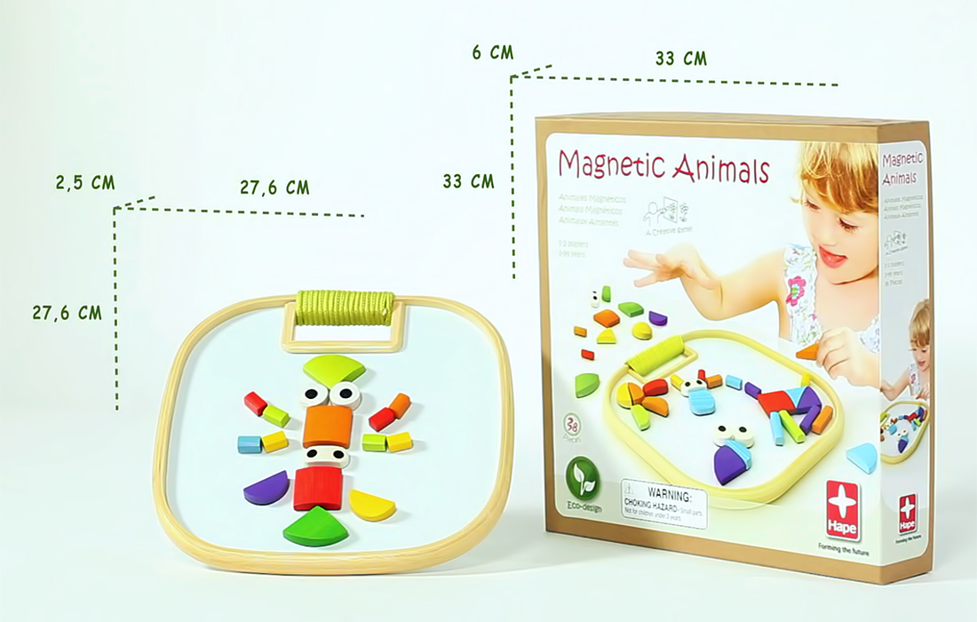 MAGNETIC ANIMALS, мозаика на магнитах